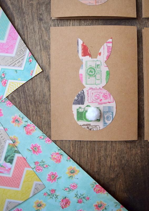 DIY Osterkarten basteln, die sich perfekt für diese lustige Ostergrüße eignen