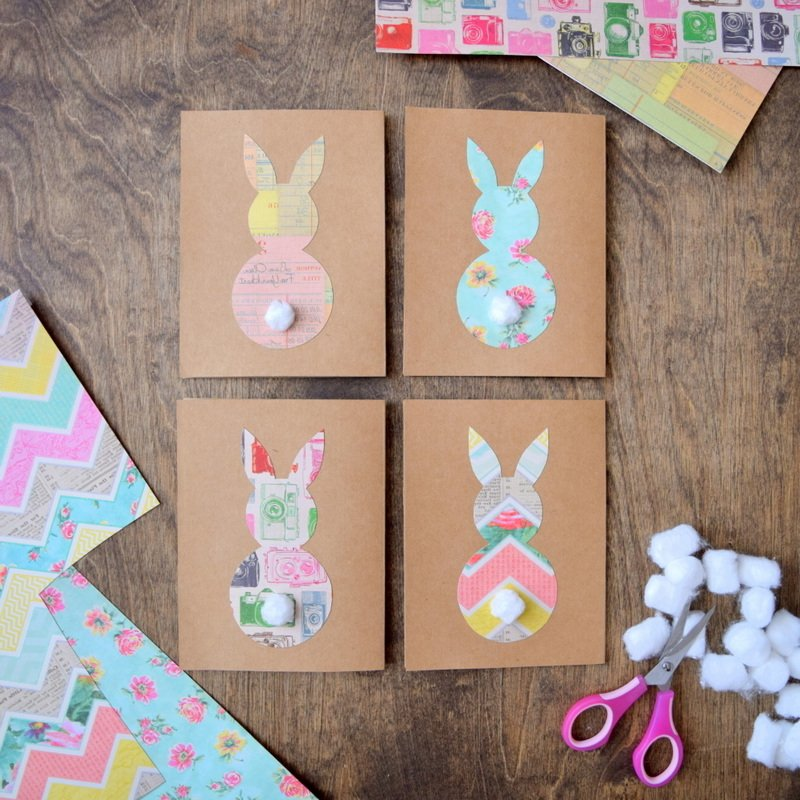 Einige lustige Ostergrüße für diese einzigartige Osterkarte: Wünschen Sie Ihrer Familie frohen Ostern!