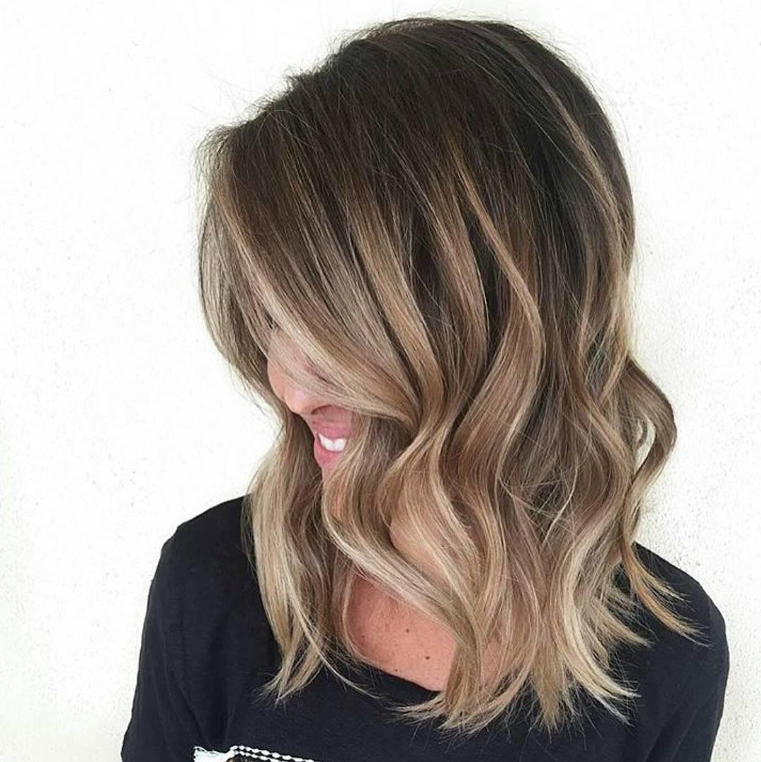 Ombre Look braune Haare
