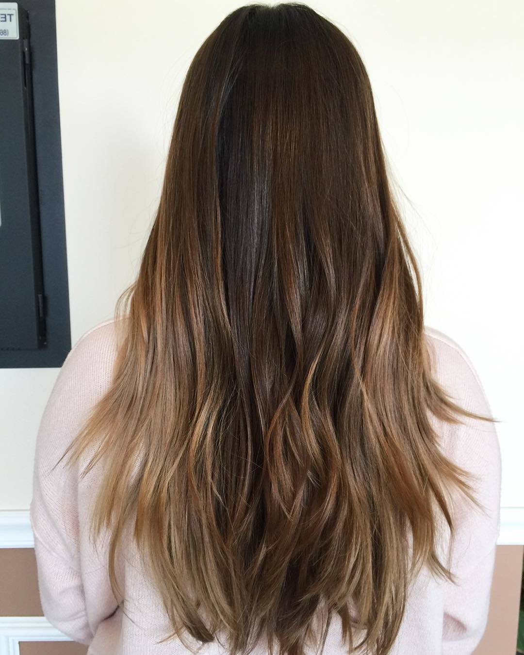 Ombre Look - Ombre blond braun