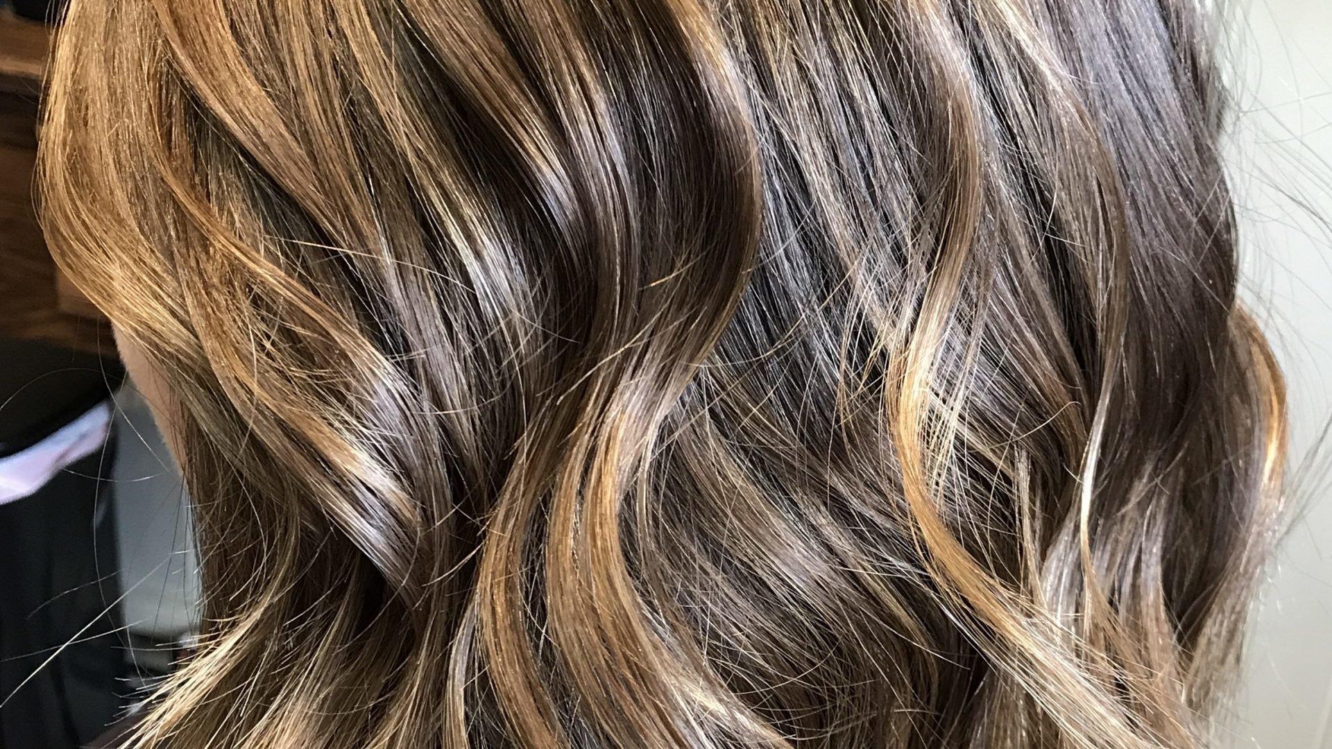 Ombre Blond Braun Haarfarben