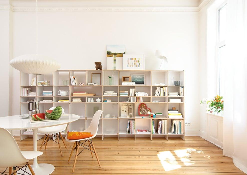 ordnung im b ro effektive aufbewahrung mithilfe von regalsystemen m bel zenideen. Black Bedroom Furniture Sets. Home Design Ideas