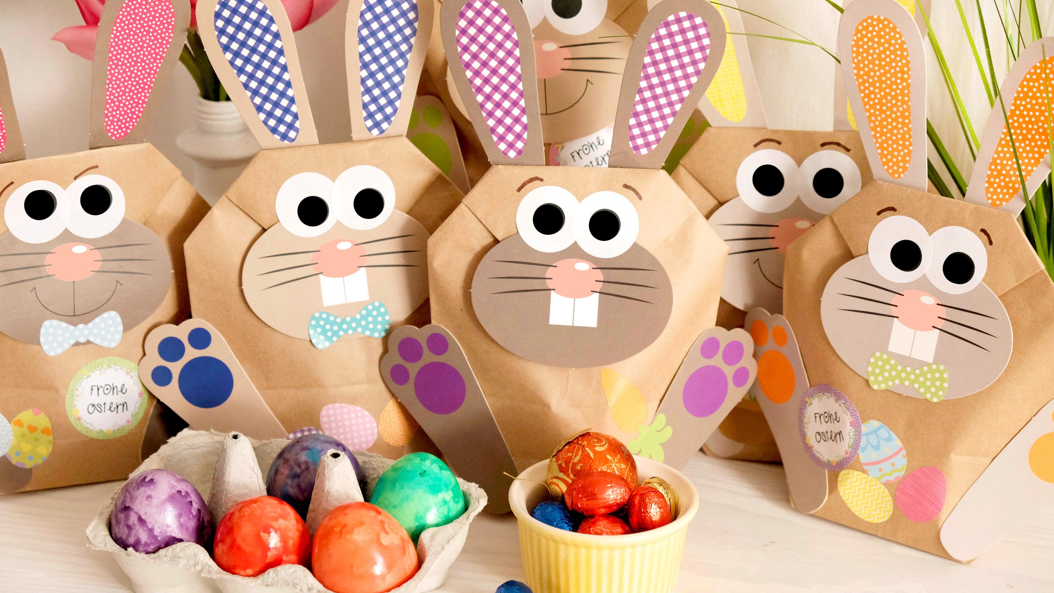 Ostern in der Tüte schenken - ein liebevolles Geschenk von Herzen