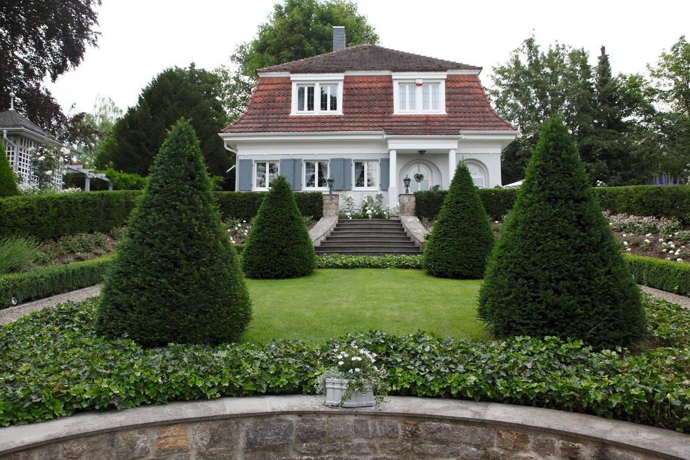 Tolle Ideen für Vorgartengestaltung im Landhaus-Stil