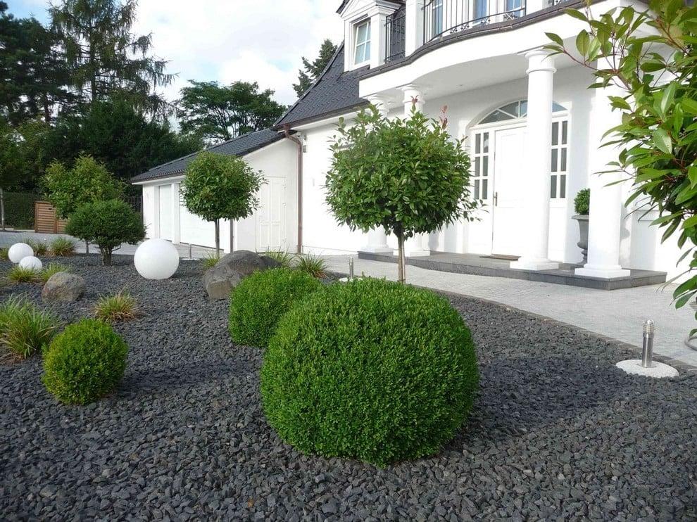 Andere spektakuläre Vorgartengestaltung Ideen und Inspirationen mit Kies