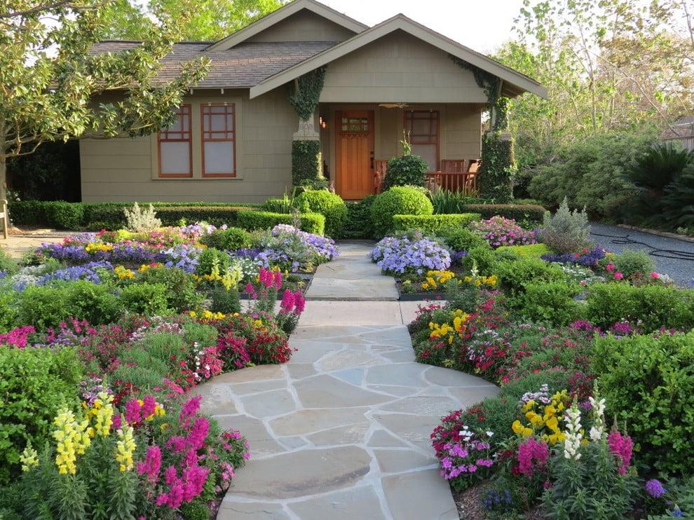 Einfamilienhaus: Ein Ziergarten ist die perfekte Idee für Ihre Vorgartengestaltung