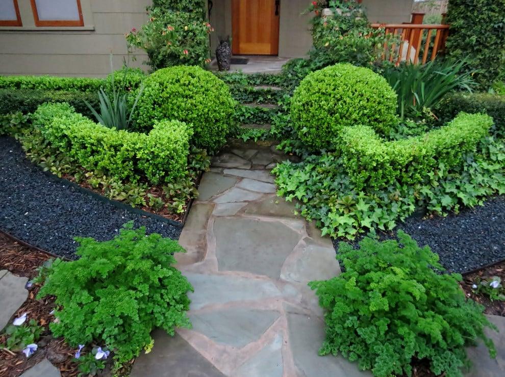 Tolle Ideen für Vorgartengestaltung mit Kies