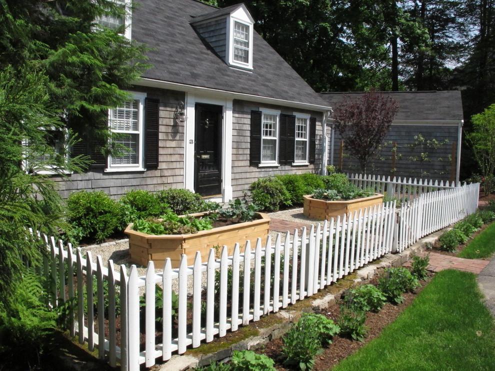 Vorgartengestaltung mit Zaun: Mein Traum ist ein kleines Haus mit weißem Zaun!