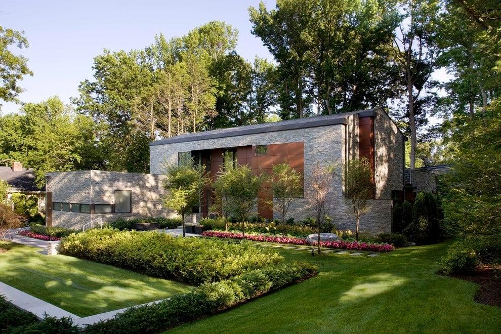 Tolle Ideen für moderne Vorgartengestaltung