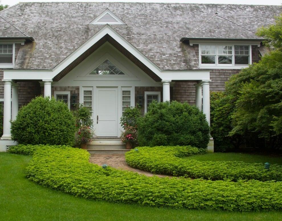 Ideen für Vorgartengestaltung fürs Landhaus