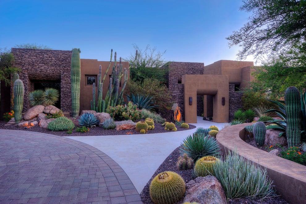 Kreieren Sie eine lebendige Wüste mit unseren außerirdischen Vorgartengestaltung Ideen
