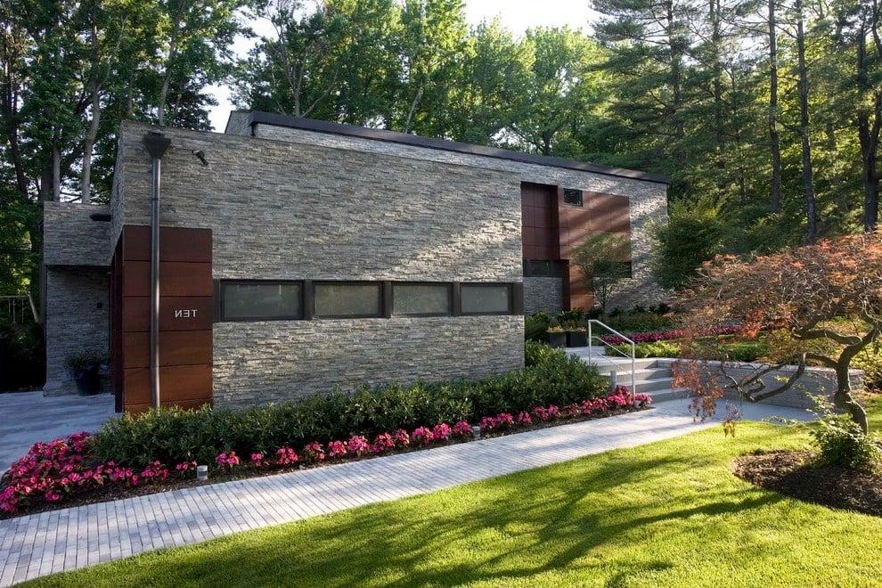 Ideen für moderne Vorgartengestaltung