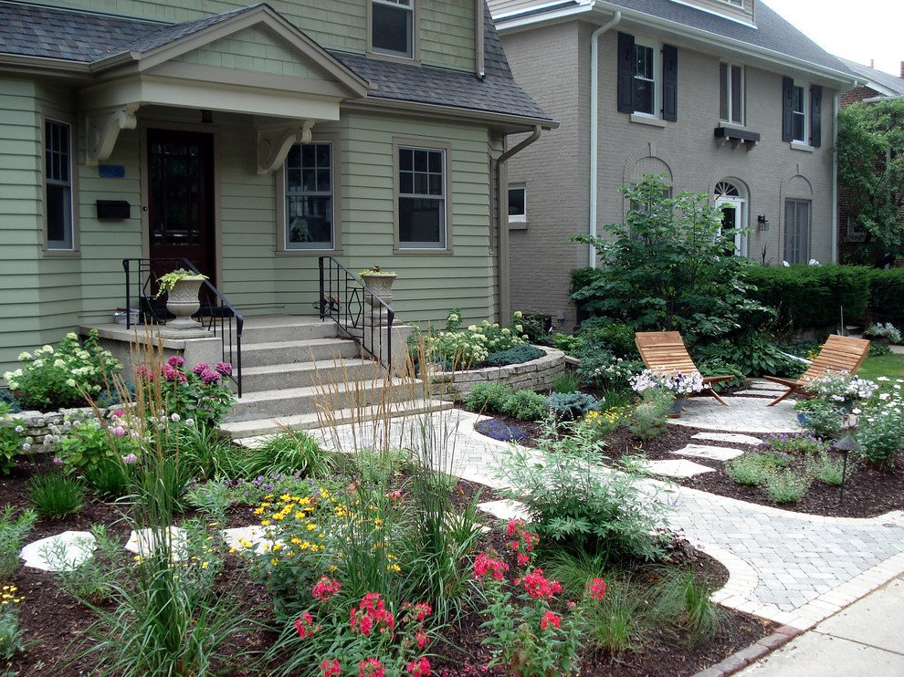 Schöne Ideen für pflegeleichte Vorgartengestaltung