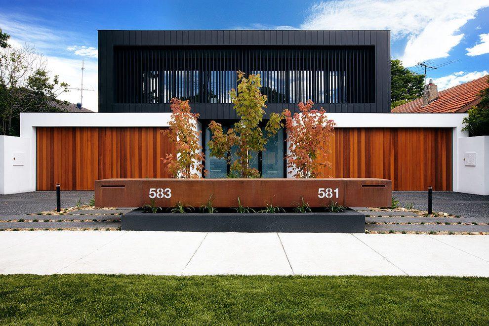 Vorgartengestaltung mit Kies: Verleiht ein modernes Flair Ihrem Vorgarten
