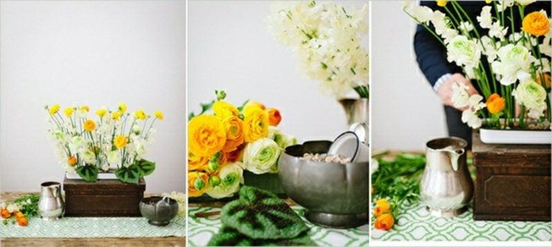 Blumengestecke arrangieren inspirierende Ideen