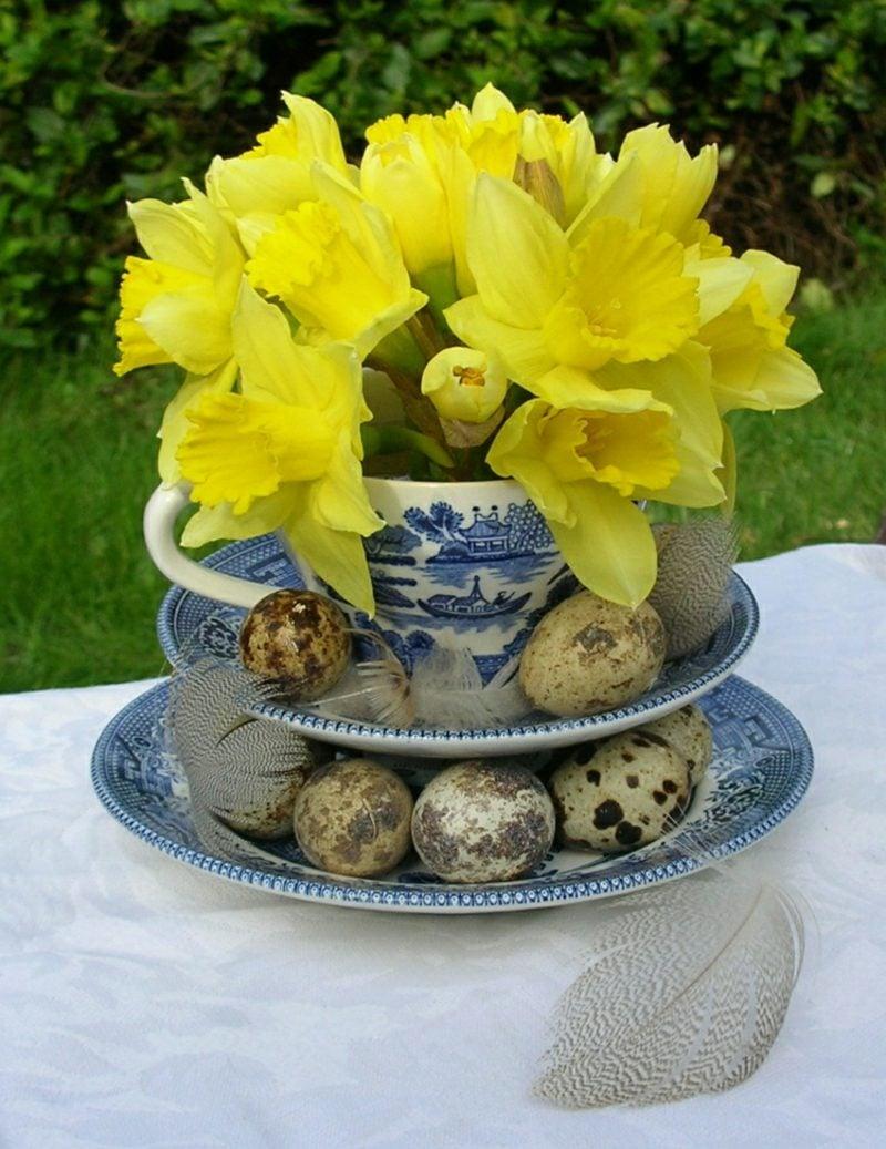 Blumengestecke Ostern Narzisse