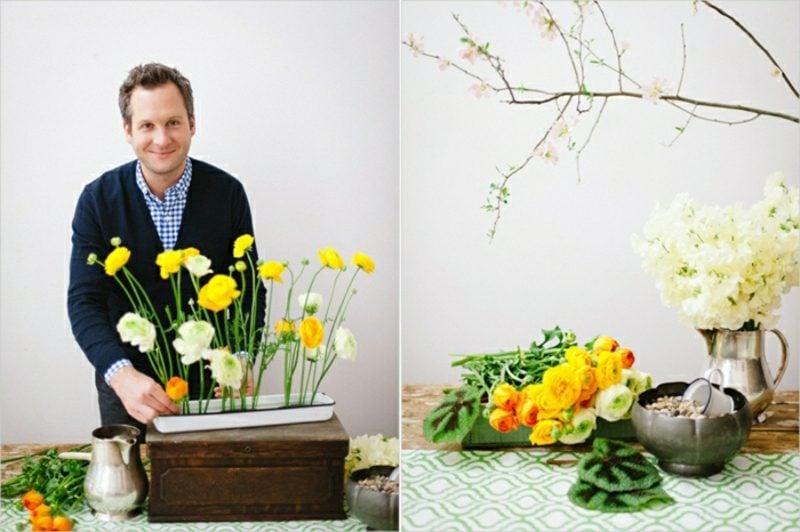 Blumengestecke selber machen Anleitung