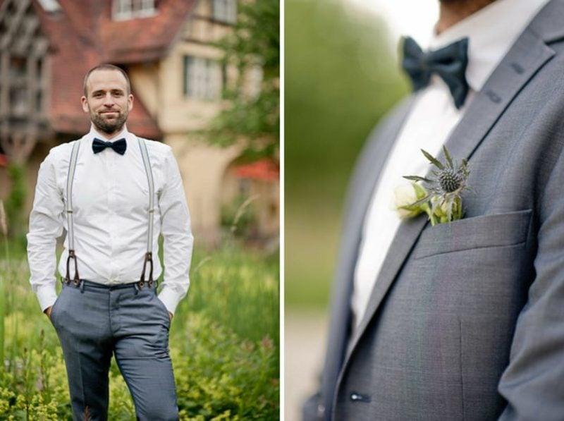 Bräutigam Anzug Vintage Hochzeit