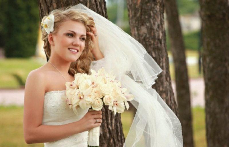 Braut Make up Grundierung auftragen Naturlook