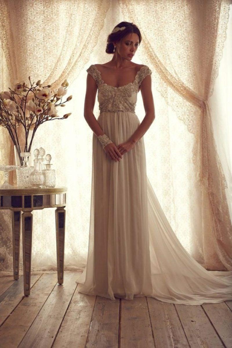 Vintage Hochzeit Retro Brautkleid romantisch