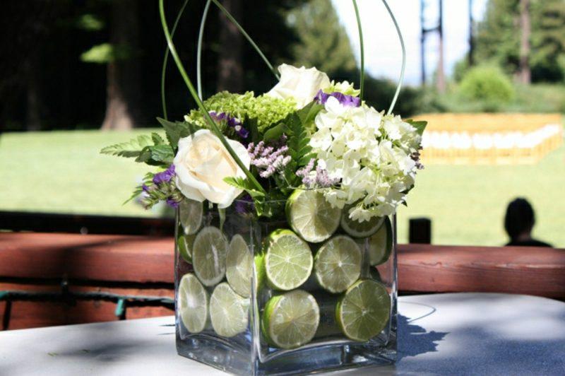 Blumengestecke DIY originelle Ideen