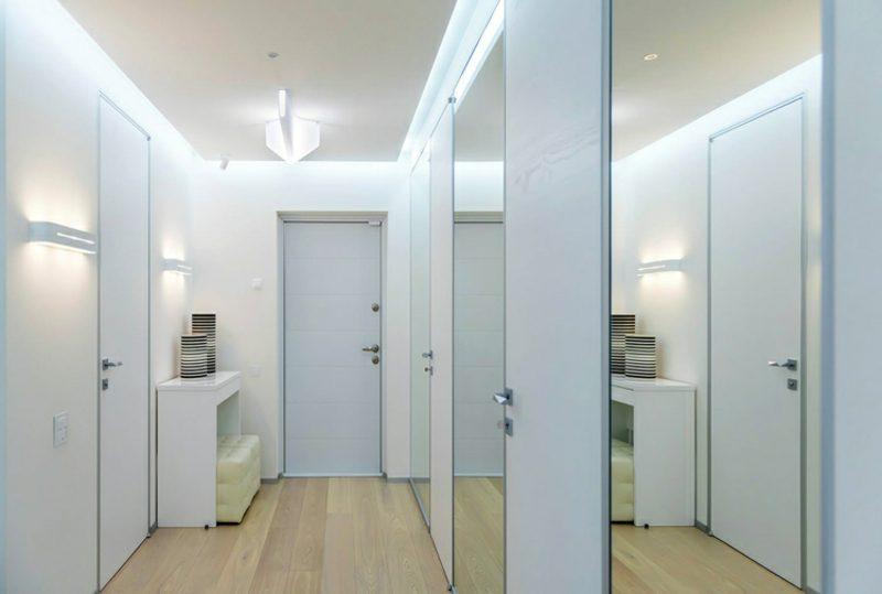 Flurgestaltung modern minimalistischer Stil