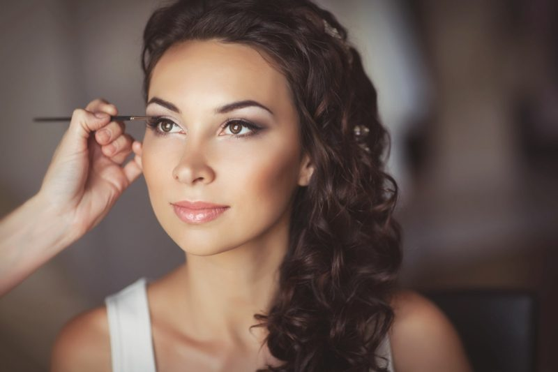 Braut Make up professionell gemacht