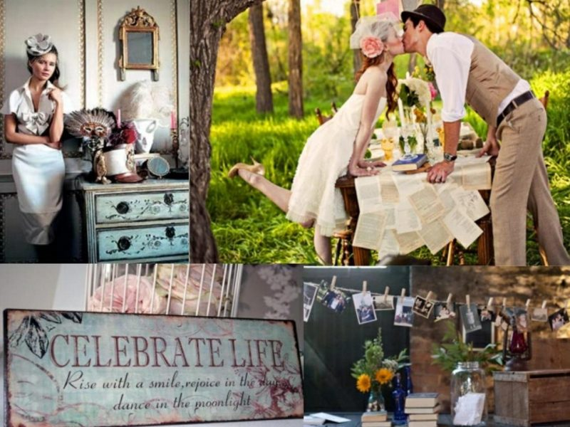 heiraten Sie mit Stil Vintage Hochzeit