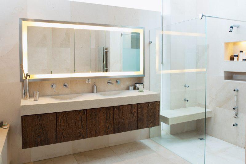 Infrarotheizung Spiegel lassen Ihr Schlafzimmer und Wohnzimmer größer wirken