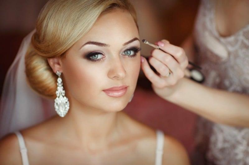 Braut make up atemberaubende ideen f r die perfekte hochzeit - Make up mariage ...