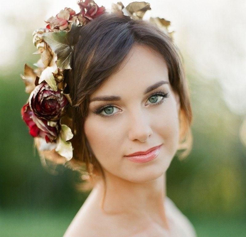Braut Make up Naturlook Hochzeit Herbst