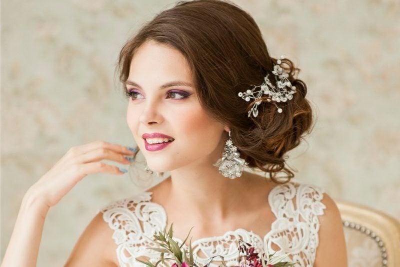 Braut Make up kreative Ideen