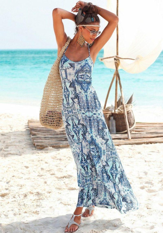 schöne Maxikleider Sommer Strand