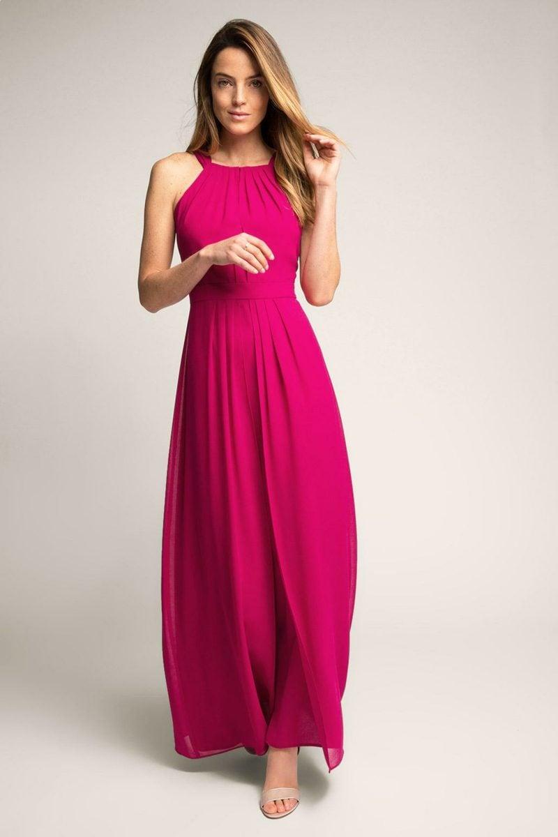 schöne Maxikleider rosa stilvoll