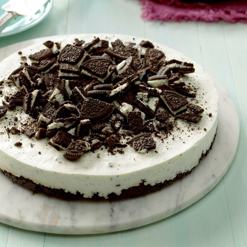 Oreo Cheesecake schnelles Rezept ohne Backen
