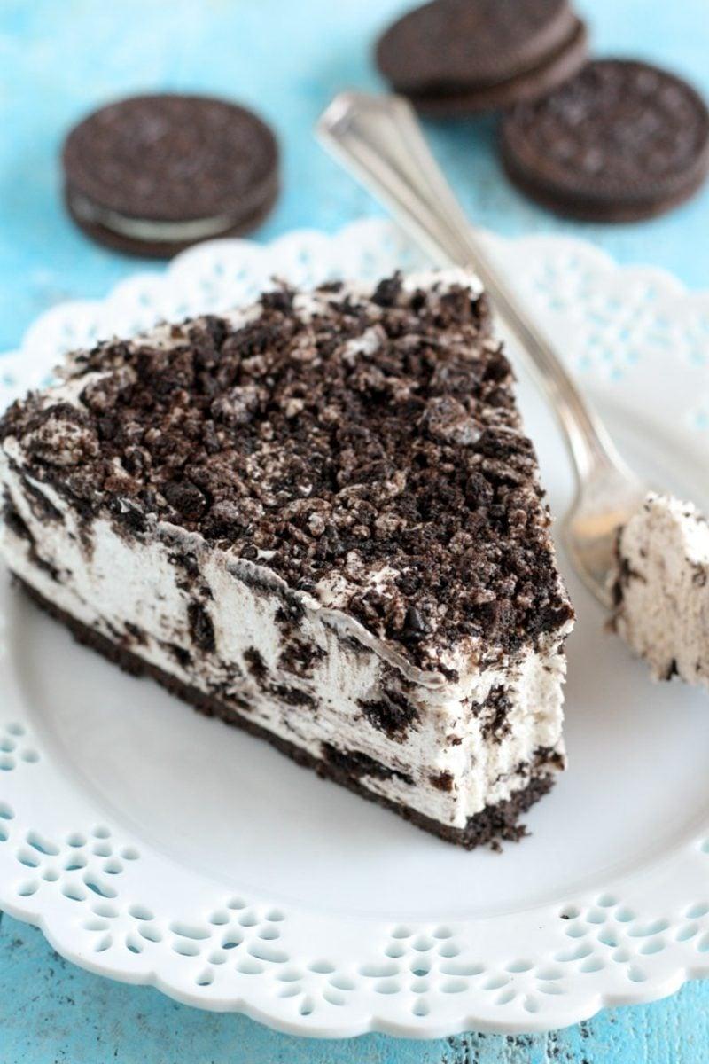 leichtes Oreo Cheesecake ohne Backen