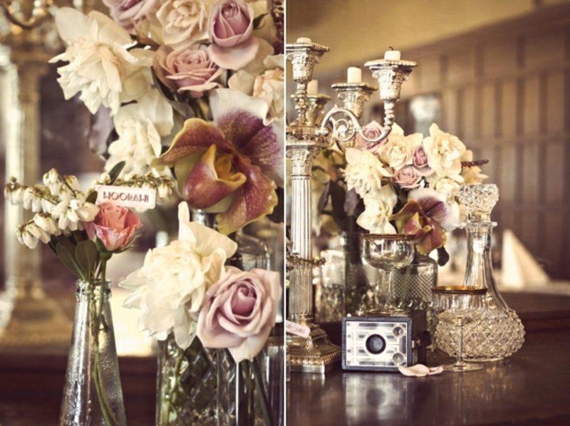 Vintage Hochzeit eindrucksvolle Dekoideen