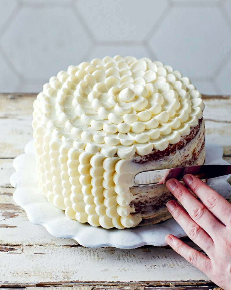 Torten dekorieren Buttercreme