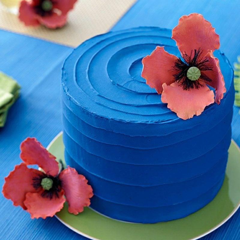 Torten dekorieren Ideen mit Buttercreme