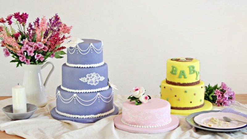 Torten dekorieren Tipps und Anleitungen