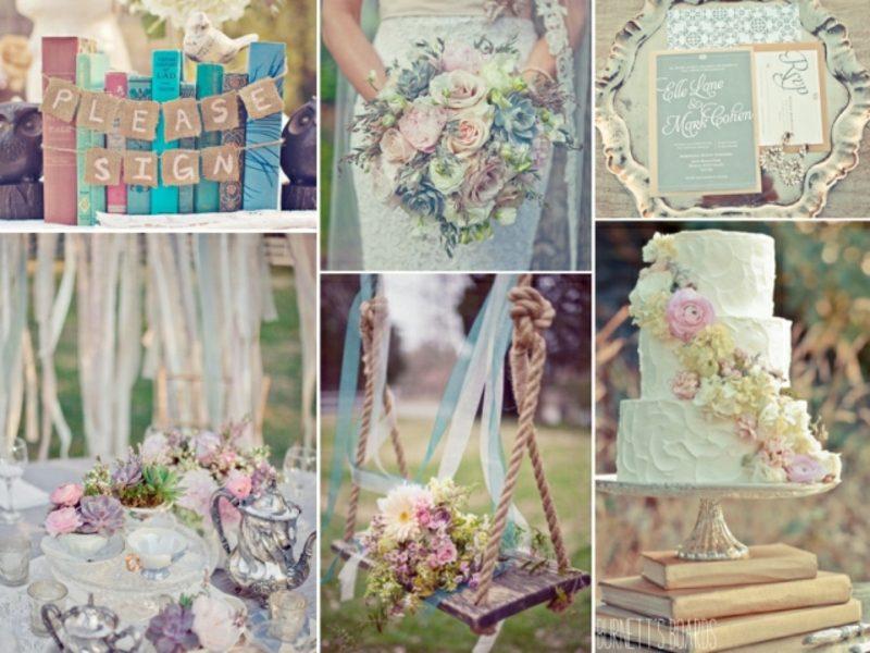 Vintage Hochzeit organisieren