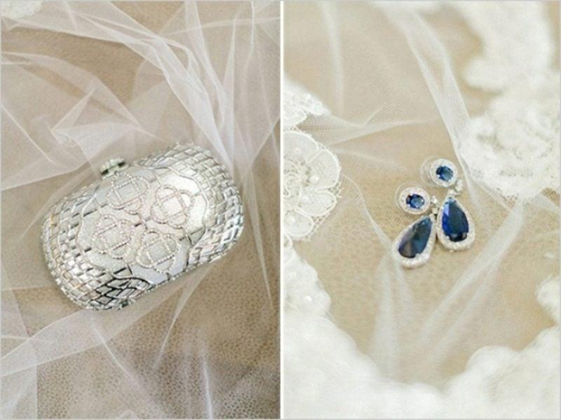 Vintage Hochzeit Braut Schmuck