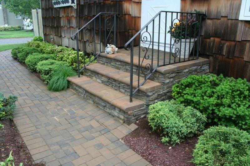 Vorgarten gestalten Hauseingang