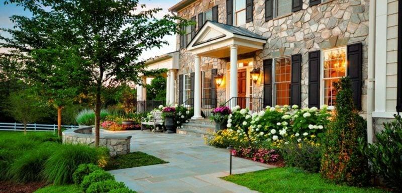 Vorgarten gestalten DIY Ideen und Tipps