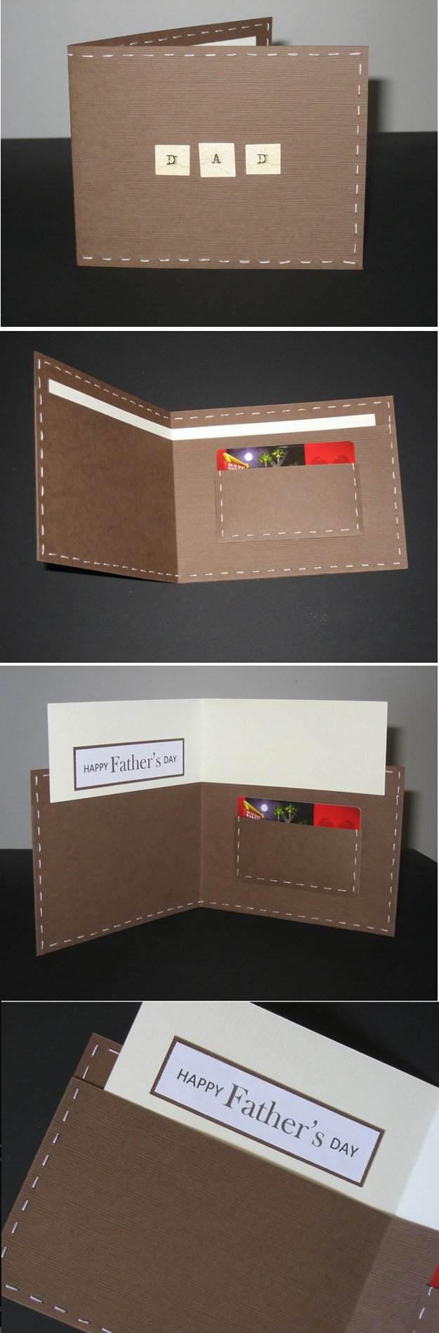 Basteln Sie selbst eine Vatertag-Karte und wünschen Ihrem Vater alles Gute zum Vatertag