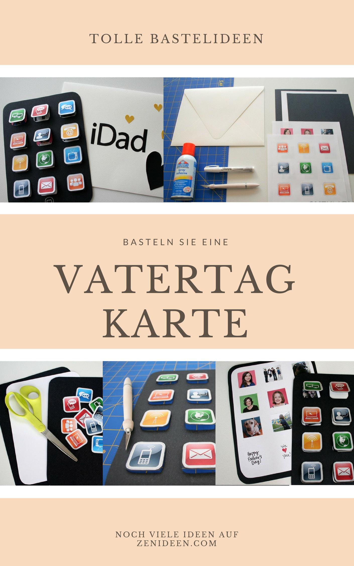 Bastellabor: Hier finden Sie umwerfende und kinderleichte DIY Ideen für Vatertag-Karte