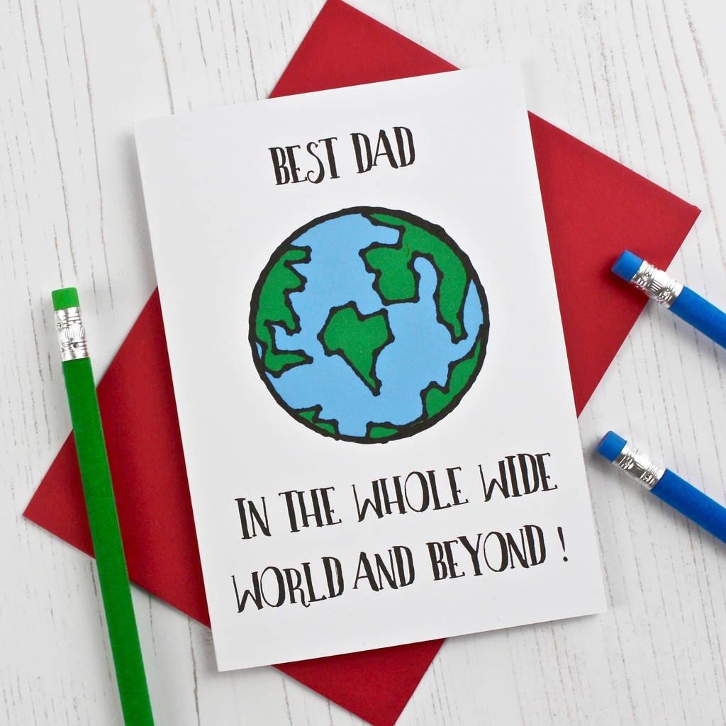"""Wünschen Sie """"Alles Gute zum Vatertag"""" Ihrem Vater mit einer toller Vatertag-Karte"""