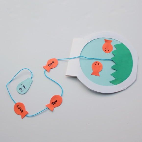 DIY Anleitung für Kinder: Alles Gute zum Vatertag mit einer selbstgemachten Karte wünschen