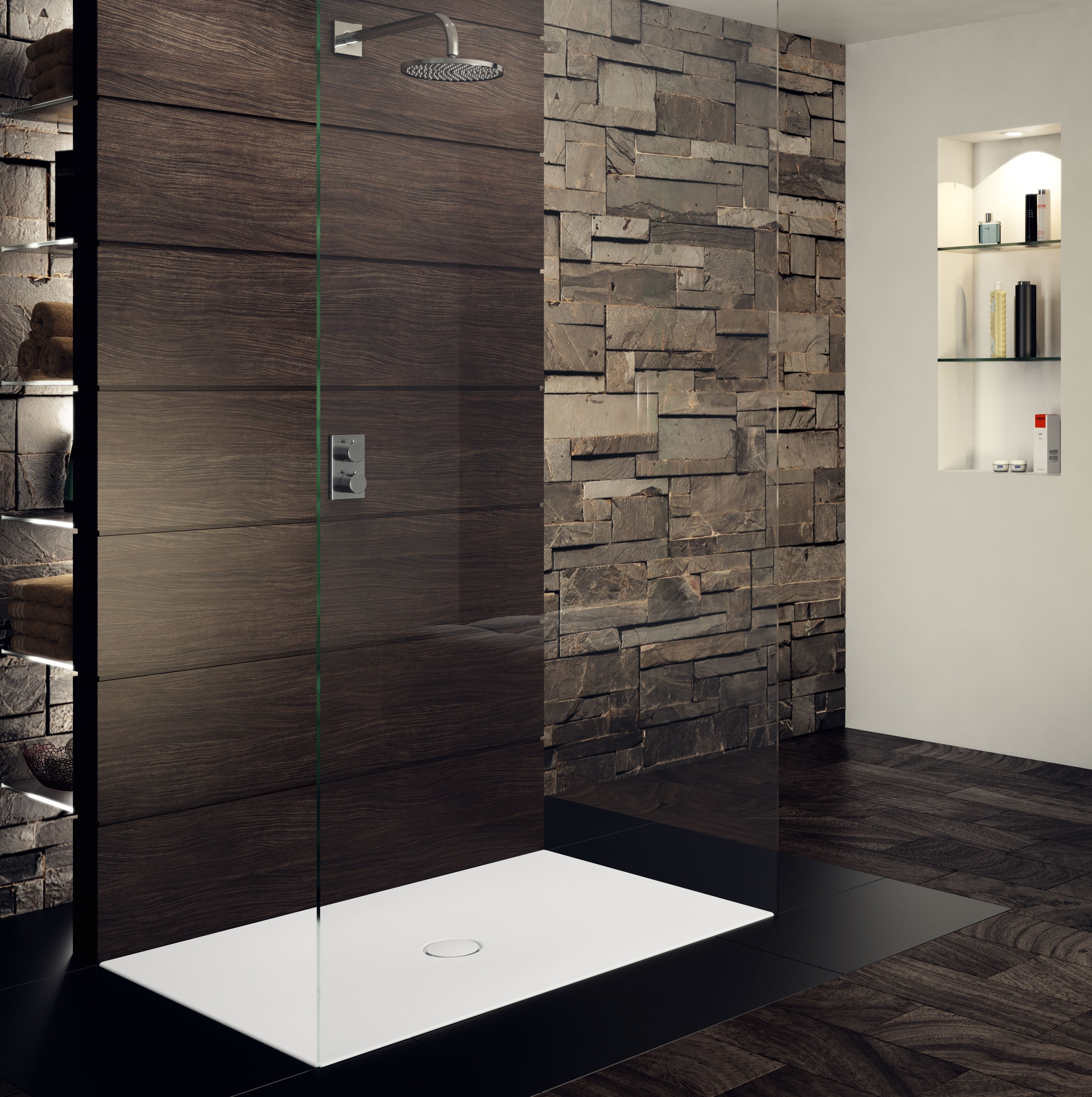 badezimmertrends 2018 die badewanne war gestern hoch lebe die bodengleiche dusche. Black Bedroom Furniture Sets. Home Design Ideas