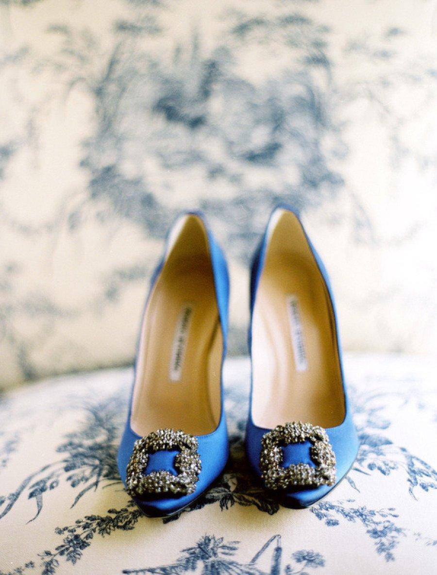 Brautschuhe - Etwas in Blau